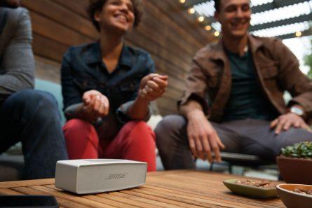 Мобильная Bluetooth колонка BOSE SoundLink Mini II Pearl